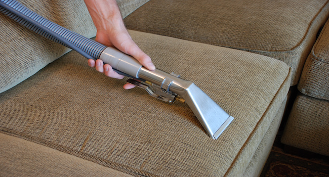 Upholstery Cleaning of Sofa Cushion | Floor Cleaning Services